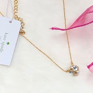 NWT KATE SPADE ♠️ GOLD LADY MARMALADE NECKLACE